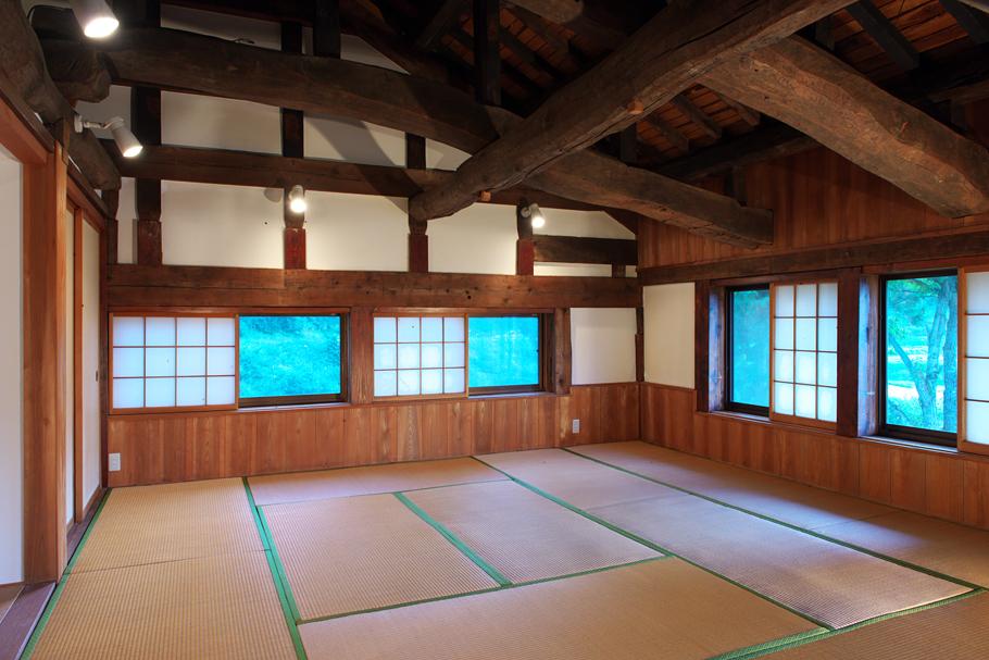 The 2nd Floor of Echigo Inner Silence Space
