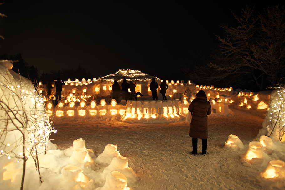 Snow Festival in Yasuzuka in 2013