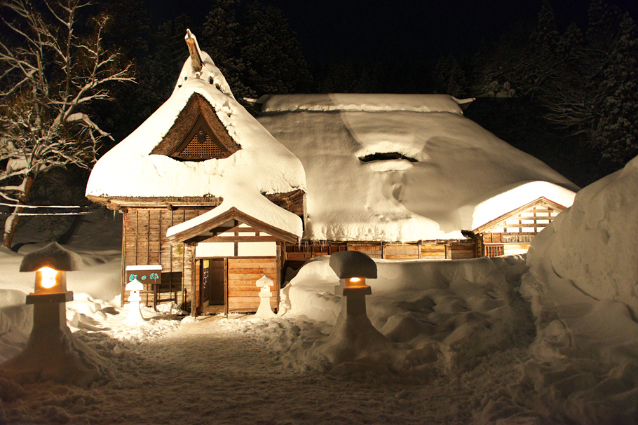 Snow Festival in Ohshima in 2013